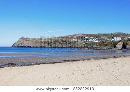 Port Erin On The Isle Of Man. Douglas, Isle Of Man.