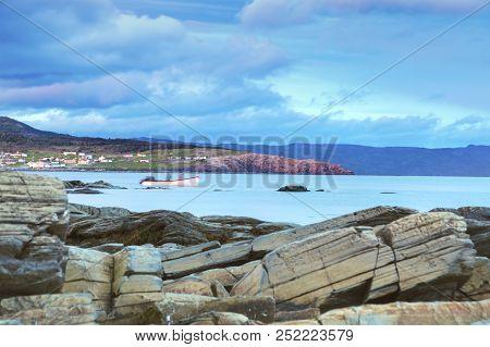Gros Morne National Park in Newfoundland. St. John's, Newfoundland and Labrador, Canada. poster