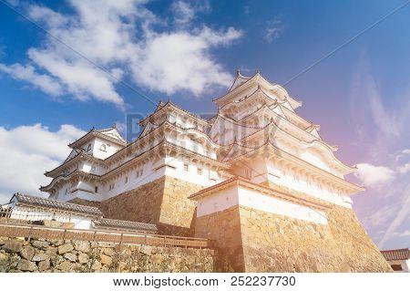 Himeji Castle World Heritage Historic Landmark, Kyoto Japan Landmark