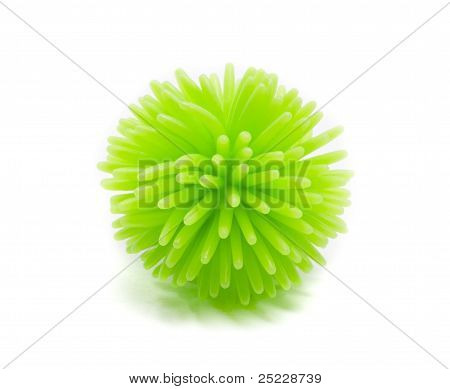 Green Koosh Ball
