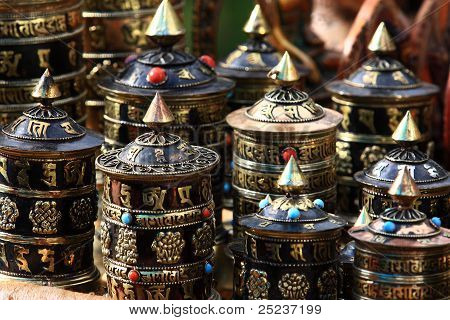 Glocke In Tibet.