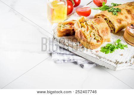 Vegetable Savory Strudel