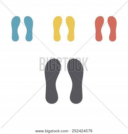 Orthotics Icon. Flat Sign For Orthopedic Equipment, Foot Protection. Vector