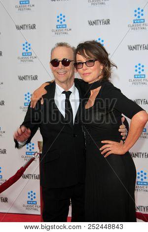 LAS VEGAS - APR 12:  Joel Grey, Jennifer Grey  at the TCM Classic Film Festival - 40th Anniv of
