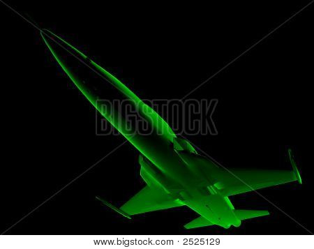 X-Ray 3D Fighter Jet