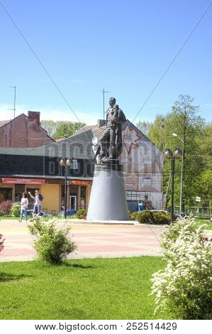 Sovetsk, Russia - May 01.2018: Monument To The Warrior-liberator, A Monument To A Soviet Soldier In