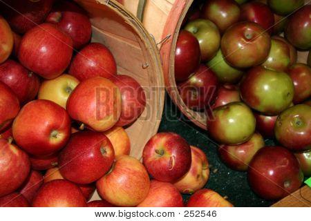 Apples at Farmers Market