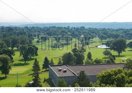 Public Golf Course In Highland Park Suburb Of Saint Paul Ramsey County Minnesota