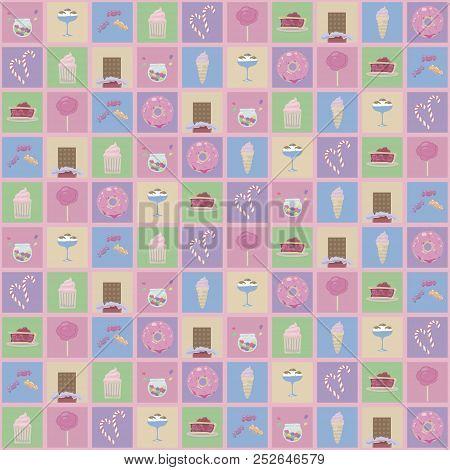 Multicolored Squares Vector Photo Free Trial Bigstock