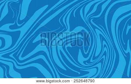 Marble Painting Pattern, Vector Illustration