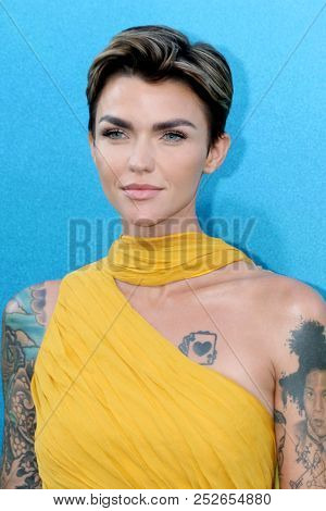 LOS ANGELES - AUG 6:  Ruby Rose at the