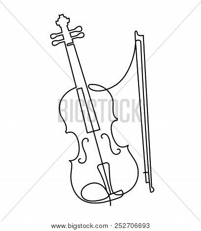 continuous line vector photo free trial bigstock