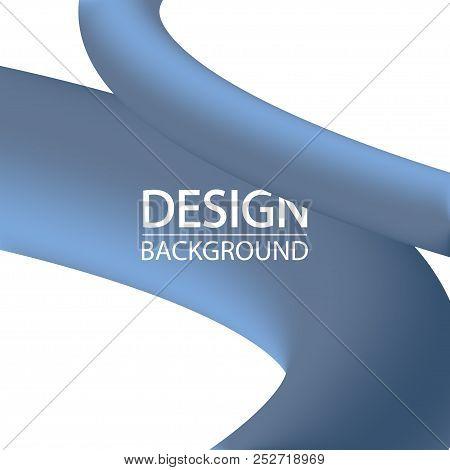 3d Liquid Blue Lines Vector & Photo (Free Trial) | Bigstock