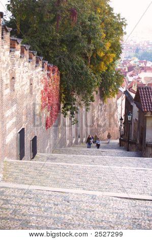 Steps Down The Castle District