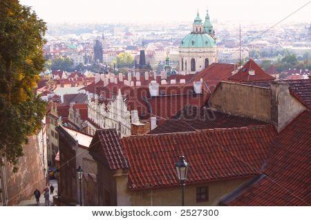 Prague Castle District St Vitus Cathedral Area