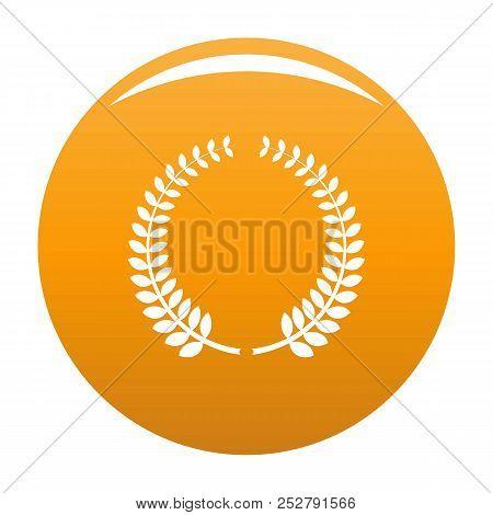 Awarding Icon. Simple Illustration Of Awarding Icon For Any Design Orange