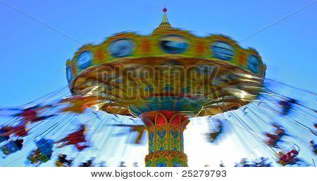 Zirkus-Fahrt - Karussell