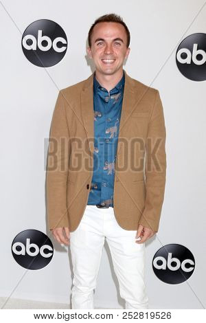 LOS ANGELES - AUG 7:  Frankie Muniz at the ABC TCA Party- Summer 2018 at the Beverly Hilton Hotel on August 7, 2018 in Beverly Hills, CA