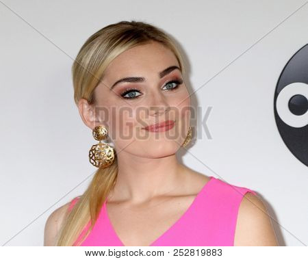 LOS ANGELES - AUG 7:  Meg Donnelly at the ABC TCA Party- Summer 2018 at the Beverly Hilton Hotel on August 7, 2018 in Beverly Hills, CA