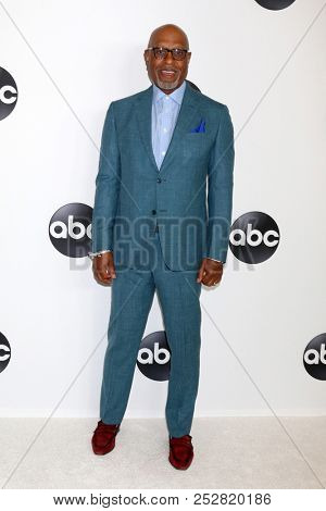 LOS ANGELES - AUG 7:  James Pickens Jr at the ABC TCA Party- Summer 2018 at the Beverly Hilton Hotel on August 7, 2018 in Beverly Hills, CA