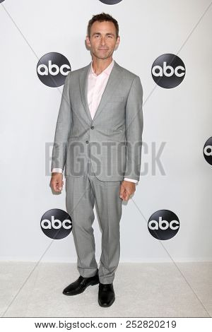 LOS ANGELES - AUG 7:  James Patrick Stuart at the ABC TCA Party- Summer 2018 at the Beverly Hilton Hotel on August 7, 2018 in Beverly Hills, CA