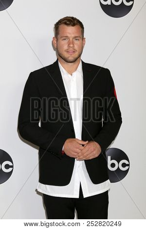 LOS ANGELES - AUG 7:  Colton Underwood at the ABC TCA Party- Summer 2018 at the Beverly Hilton Hotel on August 7, 2018 in Beverly Hills, CA