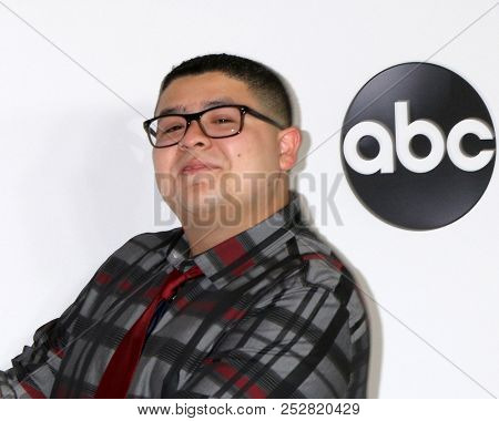 LOS ANGELES - AUG 7:  Rico Rodriguez at the ABC TCA Party- Summer 2018 at the Beverly Hilton Hotel on August 7, 2018 in Beverly Hills, CA