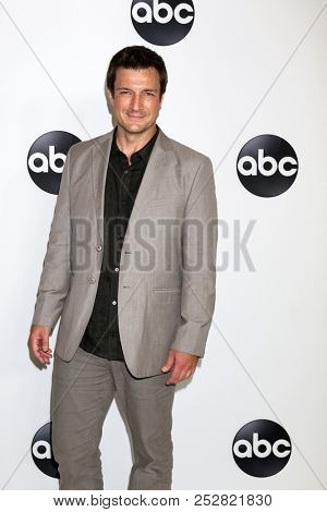 LOS ANGELES - AUG 7:  Nathan Fillion at the ABC TCA Party- Summer 2018 at the Beverly Hilton Hotel on August 7, 2018 in Beverly Hills, CA