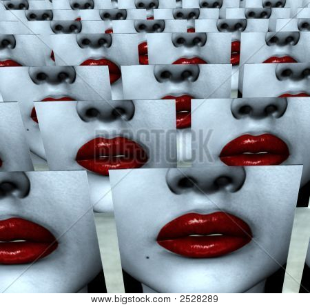 Many Lips Of Love