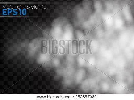 Fog Or Smoke Isolated Transparent Special Effect.smoke Or Cloud Effect On Transparent Background. Re