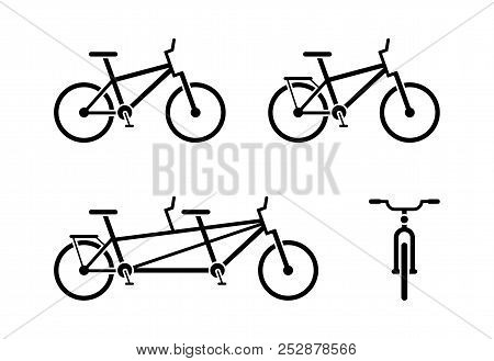 Bicycle Icon Vector & Photo (Free Trial) | Bigstock