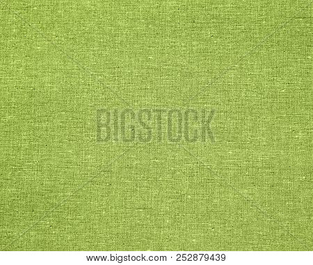 Canvas Surface Texture For Background. Close Up