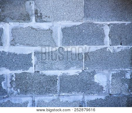 Gray Grunge Brick Wall Texture For Wallpaper  Background
