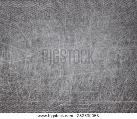 Scratched Metal For Texture Or Background, Grunge Background