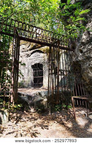 Man Made Sandstone Cave Klacelka Near Libechov, Czech Republic