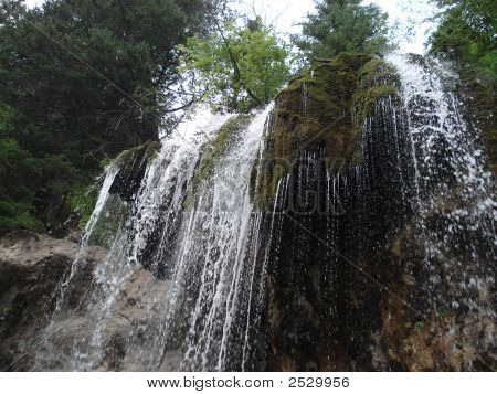Hanging falls hanging lake Glenwood