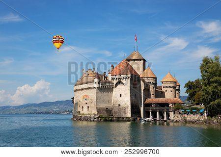 The Chillon Castle At The Lake Geneva
