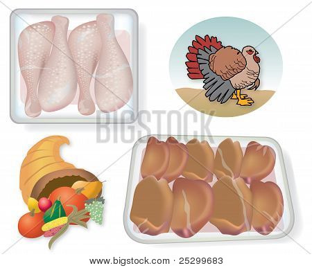 Thanksgiving Food and Images