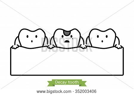 Decay Tooth Dental Vector Photo Free Trial Bigstock