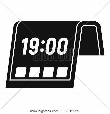 Flexible Display Icon. Simple Illustration Of Flexible Display Vector Icon For Web Design Isolated O