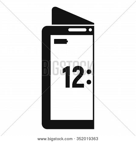 Creative Flexible Display Icon. Simple Illustration Of Creative Flexible Display Vector Icon For Web