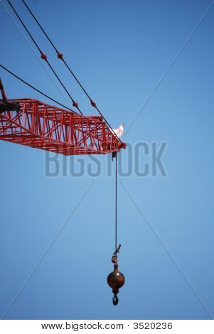 Crane Ball Weight And Hook