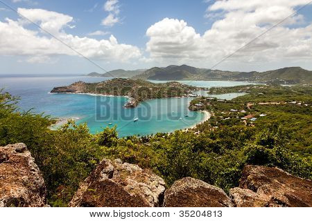 English Harbour Nelson's Dockyard Antigua Caribbean Tropical Landscape