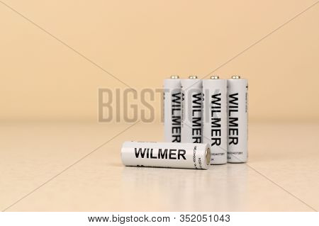 Batteries Wilmer Aaa Of Jysk Company. Jysk Is A Danish Retail Chain, Selling Household Goods And Mat