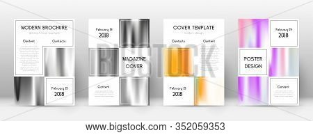 Flyer Layout. Business Tempting Template For Brochure, Annual Report, Magazine, Poster, Corporate Pr