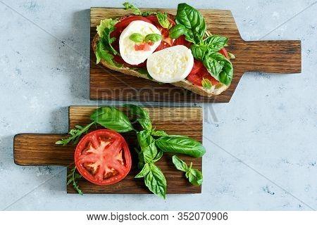 Above, Antipasto, Appetizer, Appetizers, Background, Basil, Board, Bread, Breakfast, Bruschetta, Bur