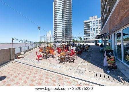 Rosario Argentina February 16 Catering Area On The Banks Of Parana River. Shoot On February 16, 2020