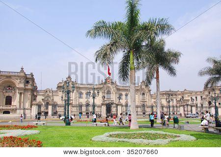 Government palace at Plaza de Armas