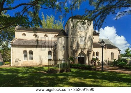 Holetown, Barbados - November 8:  St James Parish Church, Pictured On November 8, 2013, Is Located I