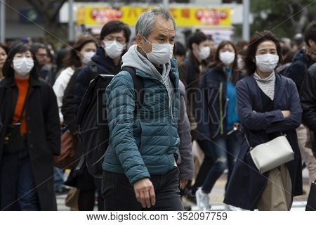 Coronavirus Outbreak Tokyo